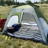 【おすすめ公園テント】ポップアップテントじゃ難しい!本当に簡単に設営撤収できるのはこれ!【Go Glamping簡易テント】